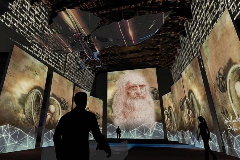 """Expo """"El Universo de da Vinci"""" llegará al Zócalo capitalino"""