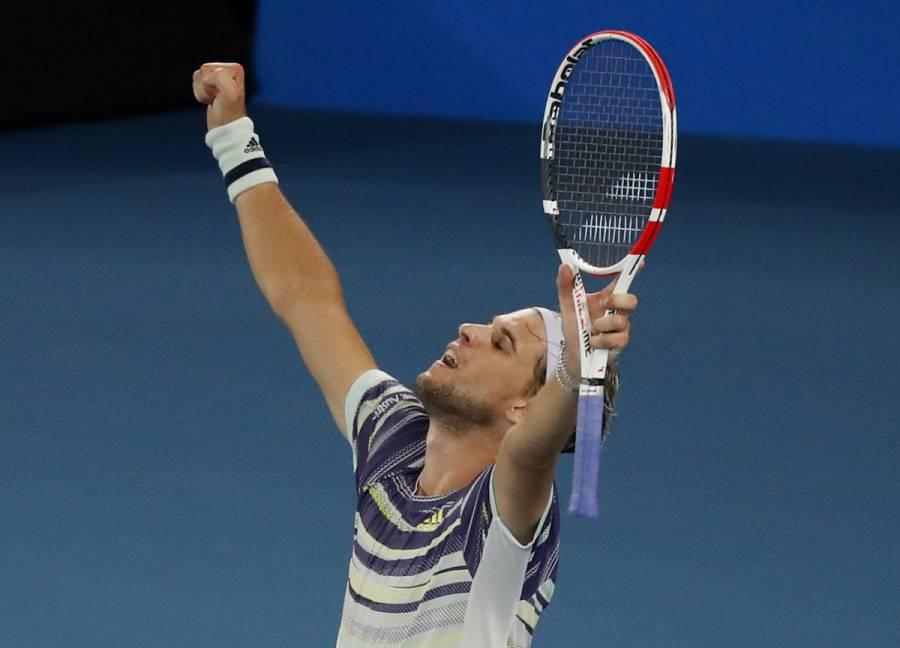 Thiem supera a Nadal y es semifinalista en Abierto de Australia