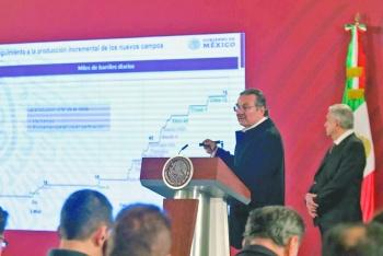 Prometen elevar producción de Pemex en marzo