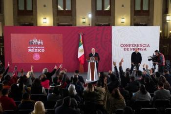 Rechaza AMLO promover reforma contra libertad de expresión