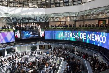 Discurso de Trump en firma del T-MEC impulsa a la Bolsa Mexicana