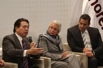 Elección de cuatro consejeros electorales del INE, asunto de Estado: Olga Sánchez Cordero; alistan convocatoria para aspirantes