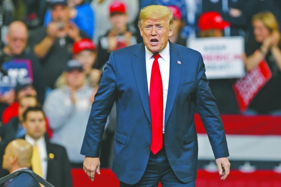 Se cae principal promesa electoral de Trump: una economía fuerte