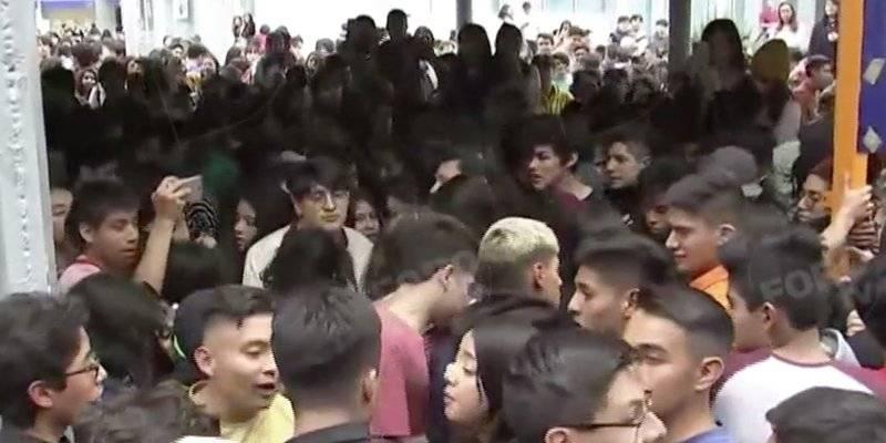 Se registra enfrentamiento en Prepa 2 de la UNAM