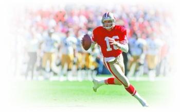 Joe Montana leyenda de 49ers sale del baúl