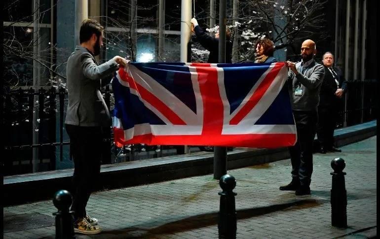 Se consuma el Brexit, Reino Unido finalmente deja la Unión Europea