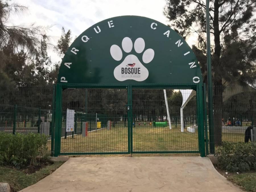 El Bosque de Aragón tiene un nuevo parque para perros