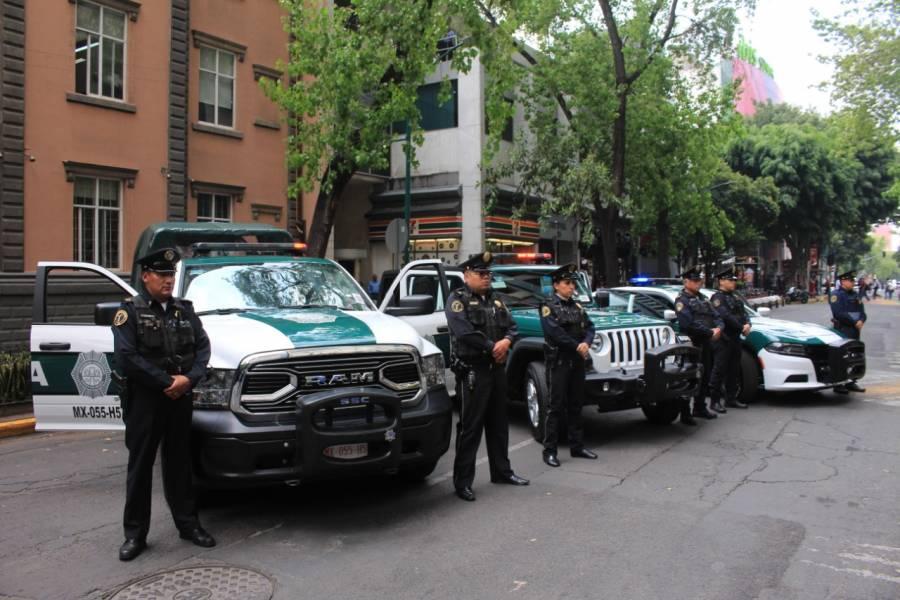 Policías detienen a presunto homicida en la alcaldía de Iztapalapa