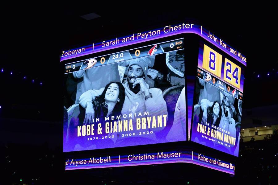 NBA rendirá homenaje a Kobe Bryant y su hija Gianna en Juego de Estrellas