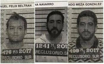Vestidos de custodios se fugaron los tres reos del Reclusorio Sur