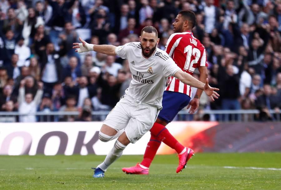 El Real Madrid vence al Atlético con gol de Benzema