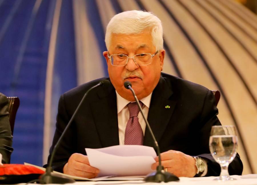 Presidente palestino rompe relaciones con EU e Israel