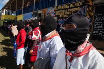 Senadores de la 4T buscan negociar con el EZLN