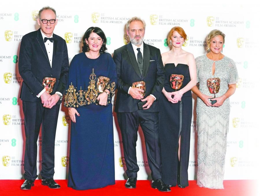 A una semana del Oscar, Sam Mendes repite hazaña y se impone en los BAFTA