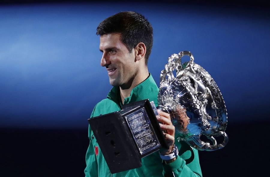 Djokovic vence a Thiem y conquista su octavo Abierto de Australia