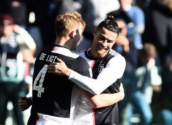 De la mano de Cristiano, Juventus se afianza líder en Liga de Italia