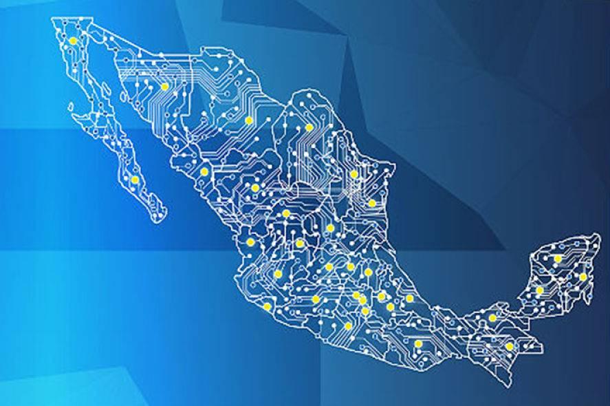 México, séptimo lugar en el mundo de personas conectadas a Internet