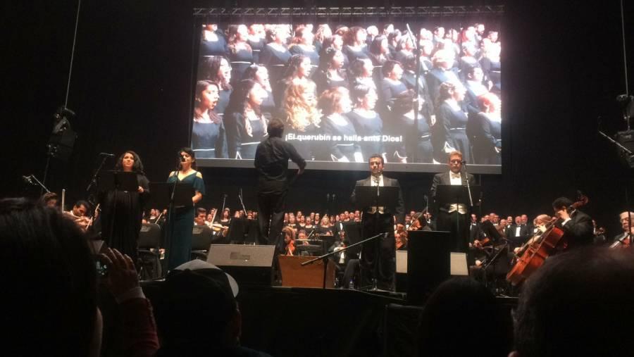 Beethoven congrega a 14 mil personas durante el Súper Bowl.