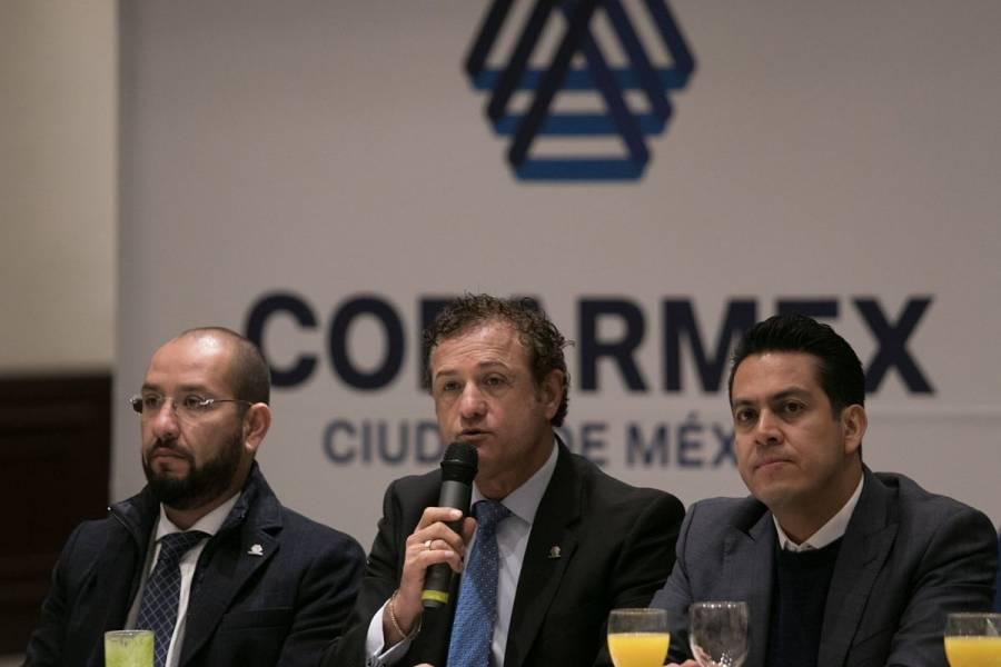 Plantea Coparmex la creación de nuevo pacto fiscal