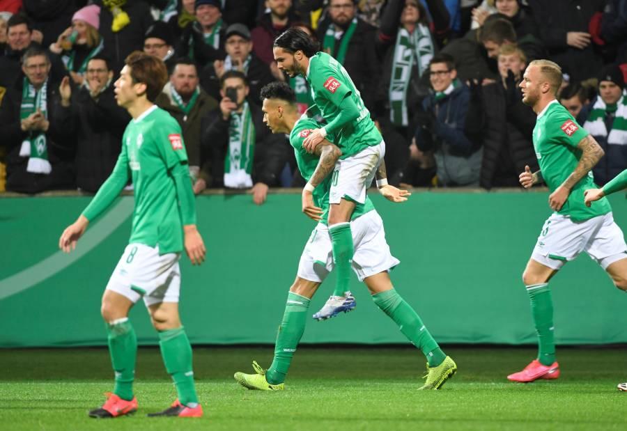 Werder Bremen quita del camino al Borussia Dortmund en la Copa de Alemania