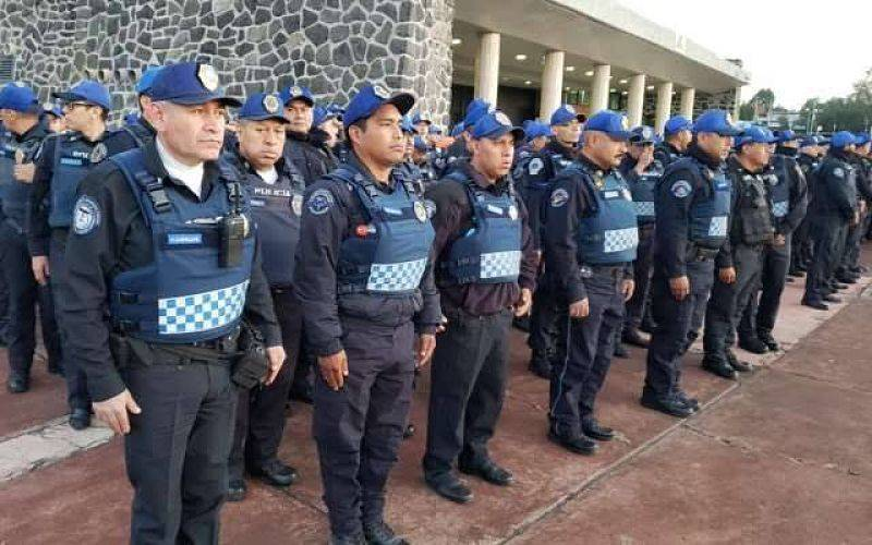 Alistan operativo de seguridad por marcha de Prepas 7 y 9