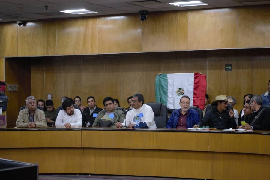 Se presenta iniciativa de Ley General de Aguas en la Cámara de Diputados.
