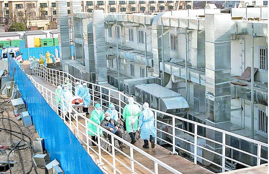 China erige hospital en 10 días, México espera 5 años para reconstruir el de Cuajimalpa