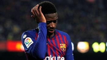 Barcelona confirma lesión de Dembélé; se perderá el resto de la temporada