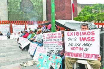 """Para pensionados del IMSS el """"daño ya está hecho"""": expertos"""