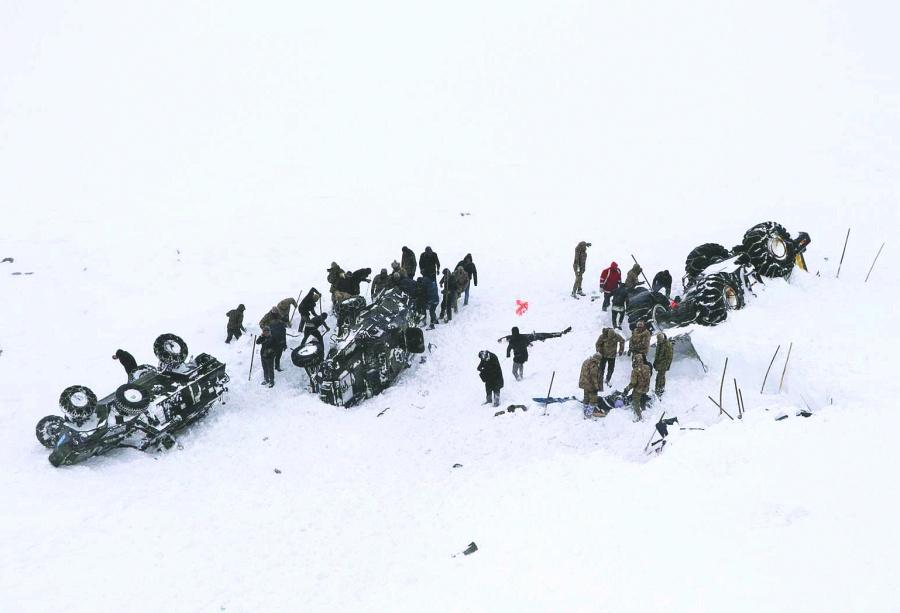 En avalanchas, mueren  38 personas en Ankara