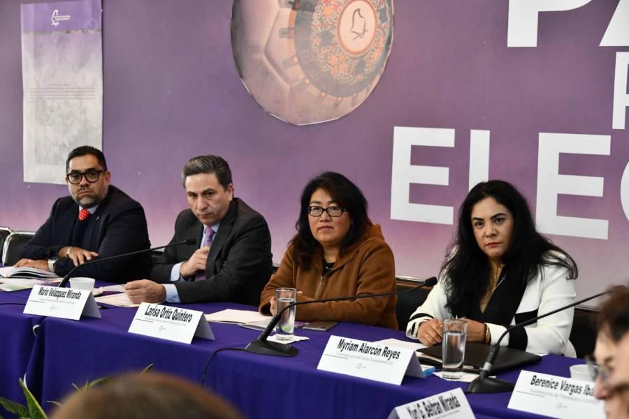 Presenta IECM Plan de Trabajo para Consulta a Pueblos y Barrios