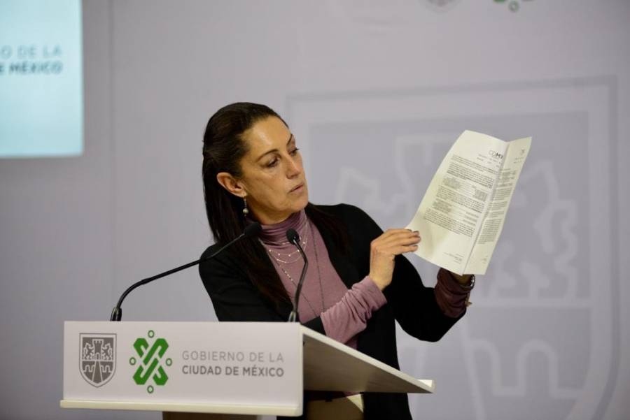 """Claudia Sheinbaum apoya iniciativa de terminar con """"puentes"""""""