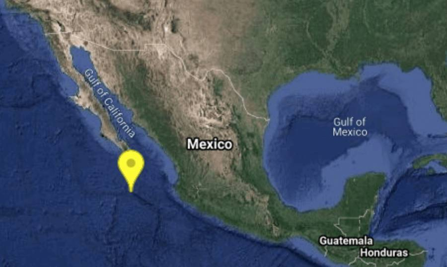 Sismo de 5.0 grados sacude Baja California Sur
