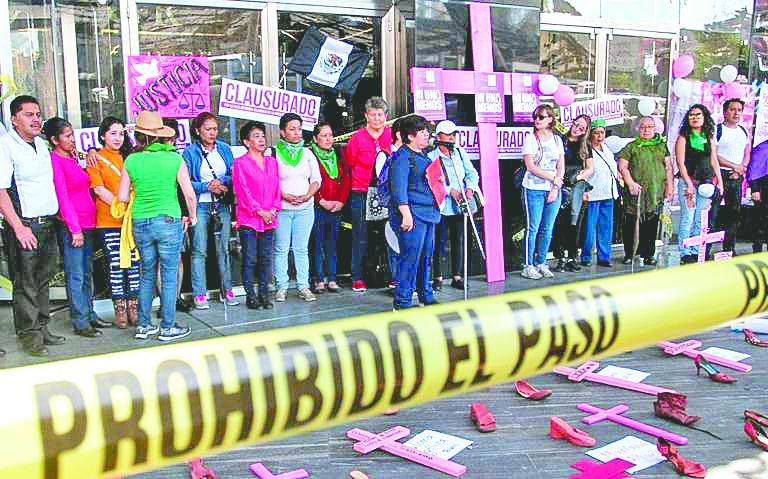 Morena niega que FGR haya propuesto eliminar feminicidio