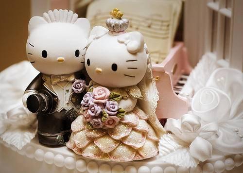Celebra tu boda al estilo Hello Kitty