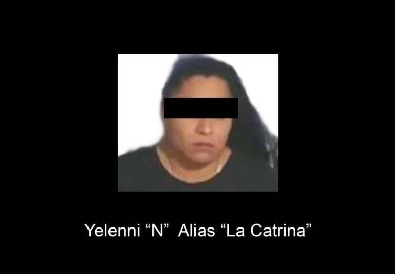 """Detienen a """"La Catrina"""" presunta líder del CJNG en Veracruz"""
