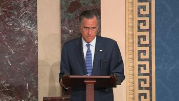 El republicano Mitt Romney votará contra Trump en el impeachment