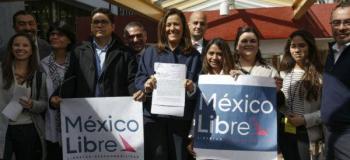 Supera México Libre número de afiliados requeridos para ser partido político