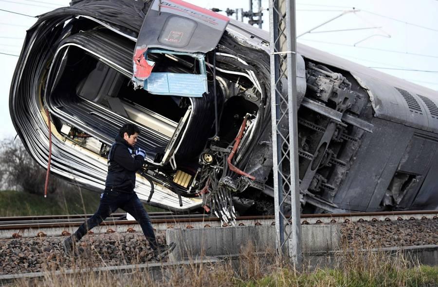Descarrila un tren de alta velocidad cerca de Milán