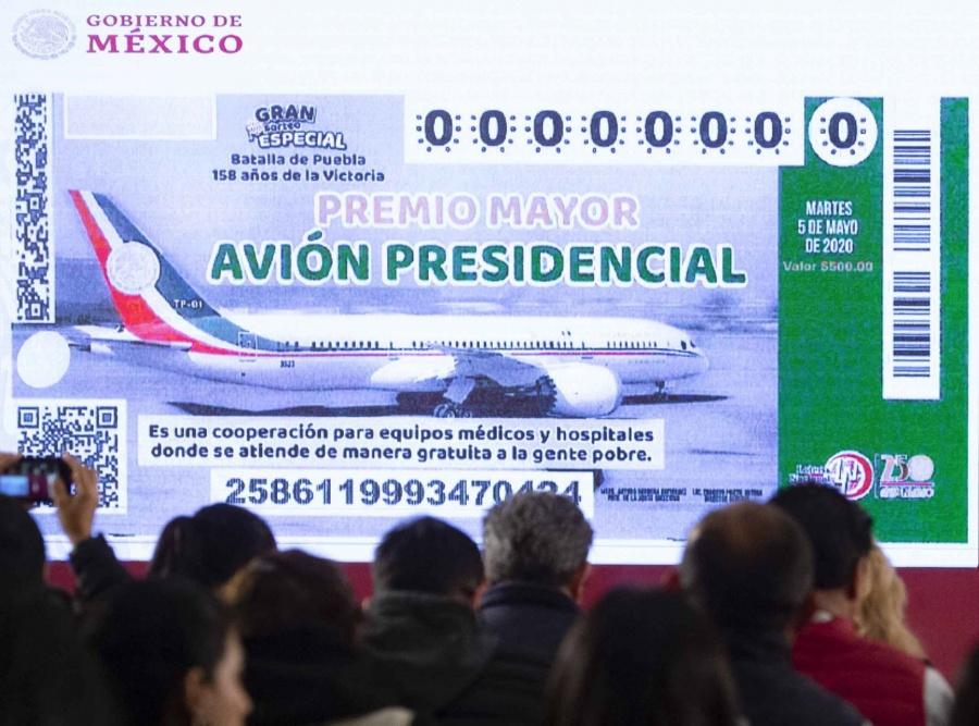 Se va a rifa, venta o renta Avión presidencial, anuncian hoy