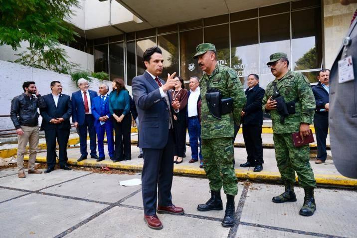 IMSS y Sedena firman convenio para construcción de nuevo hospital