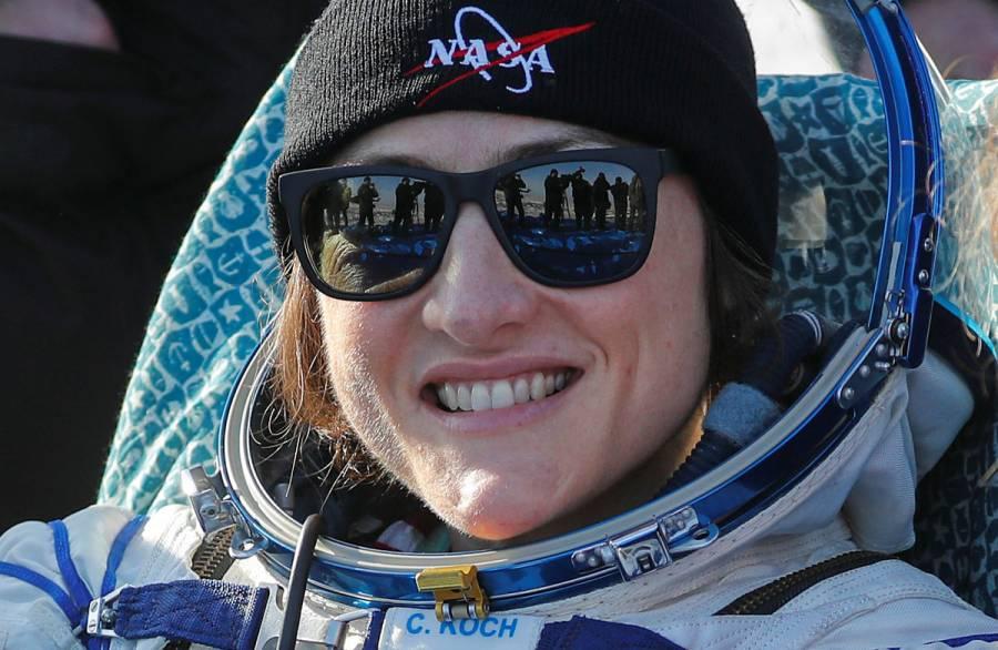 Christina Koch, la mujer con más larga estancia espacial