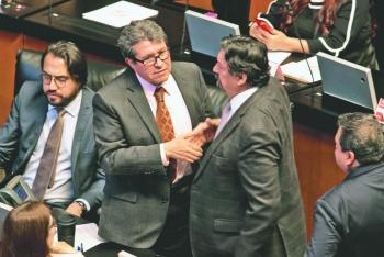 Monreal dará a conocer reforma judicial a SCJN