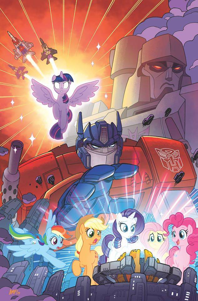 Nueva colaboración: My Little Pony y Transformers realizarán crossover