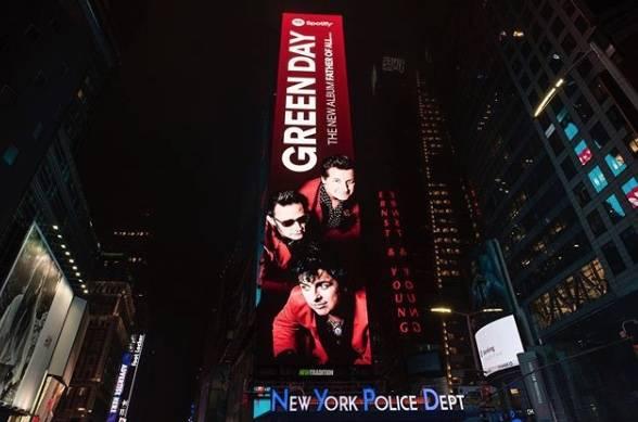 Nuevo álbum de Green Day ya está disponible en plataformas
