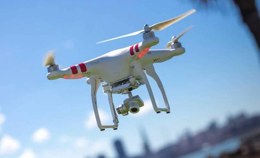 Con drones, China busca detener propagación del coronavirus