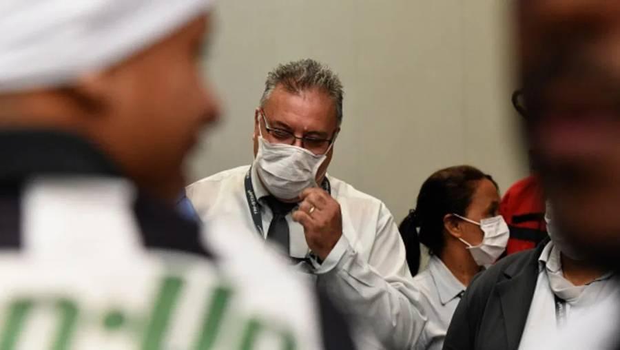 Once personas están en observación en Brasil por coronavirus