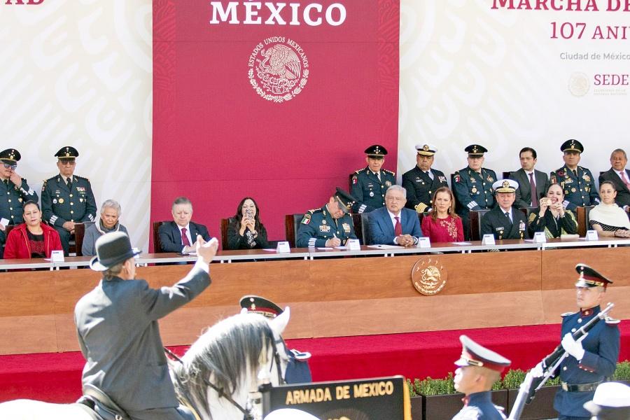 Ejército reitera lealtad a proyecto de AMLO