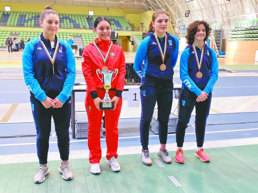 Natalia Botello se cuelga medalla de oro en Copa del Mundo Junior