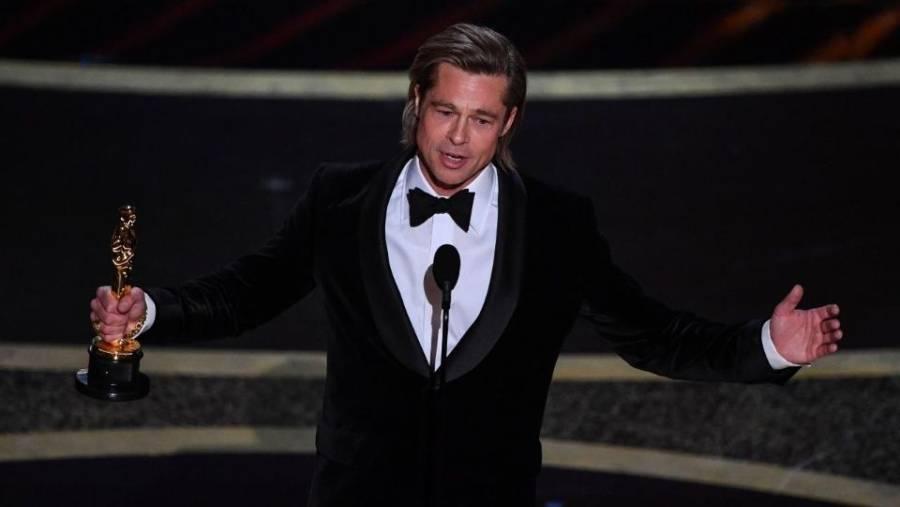 Brad Pitt mejor actor de reparto